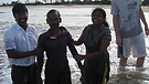 Baptisms in Bay of Bengal India !!