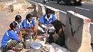 Feeding ministry at High way